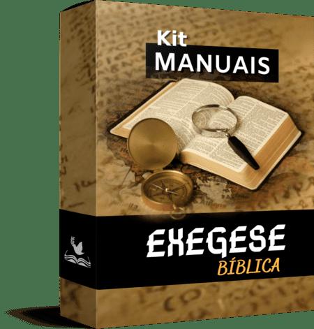 CURSO INTERPRETAÇÃO BÍBLICA-MANUAL EXEGESE